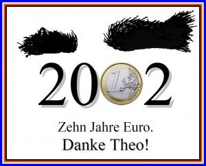 10 Jahre Euro Theo Gratias Danke