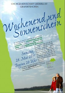 2011 Wochenend Liederlust in Schranne