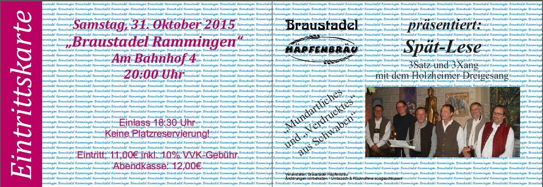 2015_10_31 Rammingen Eintrittskarte.